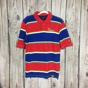 VTG COOGI Colorblock Polo Shirt XL